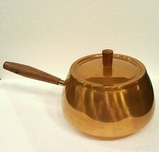 Vintage copper/ brass small pot with lid