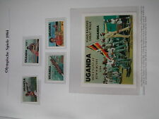 Abo-Slg olympischen Spiele 1984  Block + satz BELIZE  xx rad lauf boxen ect. kpl