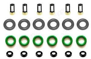 Fuel Injector Repair Kit O-rings Filters Caps for 2008-2017 Honda Accord, Acura