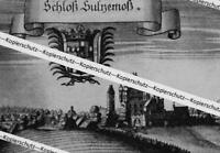 Sulzenmoß : Das Schloß - Nach einer historischen Darstellung um 1700     Z 30-5