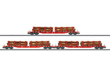 Märklin 47144 Rungenwagen-Set DB AG Holztransport
