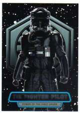 2016 Topps Star Wars Force Awakens Ser 2 Power of the First Order #8 TIE Fighter