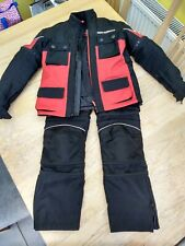 Hein Gericke Childrens Kids motorcycle Jacket & Trousers textile suit