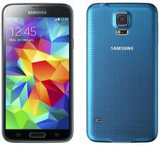 Samsung Galaxy S5 SM-G900F - 16GB - Electric Blue (Unlocked) Smartphone Grade A+