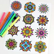 "Anti-stress coloring""Mandala""85 pictures!JPEG format via e-mail   ."