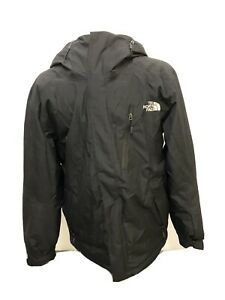 Top Quality Lined Mens The North Face Black Jacket Large