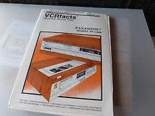 VCRFACTS VCR-175 PANASONIC PV-1340 SERVICE MANUAL