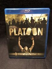 Platoon (Blu-ray Disc, 2011) No Scratches On Disc!