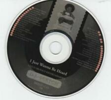 D.J. Scetch: I Just Wanna Be Heard '98 PROMO Mixed MUSIC AUDIO CD 34 tracks Ma$e