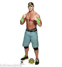 JOHN CENA WWE PRO WRESTLER LIFESIZE CARDBOARD STANDUP STANDEE CUTOUT POSTER