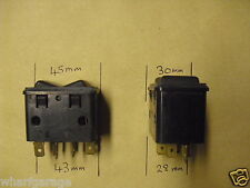 JAGUAR DAIMLER SERIES 2 XJ6 XJ12 COUPE WINDOW SWITCH X 4  C40126 DAC1301