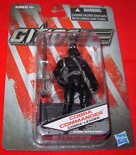 GI JOE COBRA COMMANDER Cobra Leader (Black clothes) DOLLAR GENERAL EXCLUSIVE MOC
