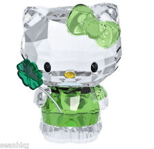 Swarovski Hello Kitty Lucky Charm Four-leaf Clover Crystal Japanese Cats 5004741