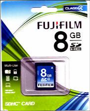 Fujifilm 8 Go Classe 4-Carte SDHC - (P10N079840A)