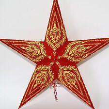 Stern Papierstern Weihnachtsstern Leuchtstern Lampe Papier Faltstern 5
