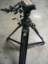 QUICKSET PROFESSIONAL TRIPOD W/ HEAD AND CONTROLS 4-23020-7 4-72855-6
