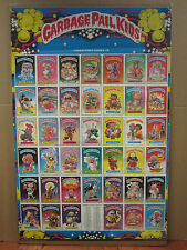 vintage Garbage Pail Kids Poster poster cartoon Chewing Gum 1985 Topps 2638