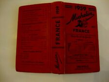 GUIDE MICHELIN FRANCE 1959