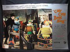 FOTOBUSTA CINEMA - CITTY CITTY BANG BANG - DICK VAN DYKE - 1968 - FANTASTICO