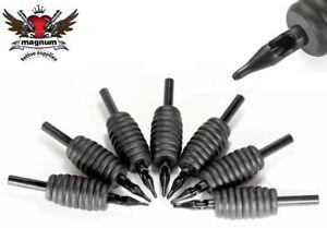 30x DISPOSABLE TATTOO TUBES - 3/4 inch 19mm grip - Round Flat & Diamond tip