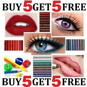 Brow Lip & Eye Liner Pencil many brands  ⭐⭐⭐⭐⭐ BUY 5 GET 5 FREE ⭐⭐⭐⭐⭐ 🖊🖊