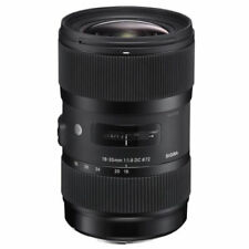 Sigma 18-35mm Camera Lenses