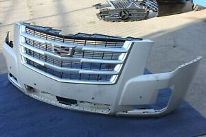 15-20 ESCALADE FRONT BUMPER COVER + GRILL GENUINE OEM ASSEMBLY