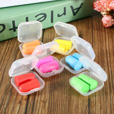 10 Pairs Memory Foam Soft Ear Plugs Sleep Work Travel Earplugs Noise Reducer