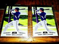 2017 Leaf Silver Draft Cody Bellinger Rookie Cards Lot of (2) NM Condition