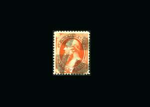 US Stamp Used, XF S#160  bold fresh color, attractive wedges cancel