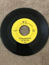 45 RPM Beatles - Please, Please Me /From Me To You-Vee Jay 581 RARE Yellow Label