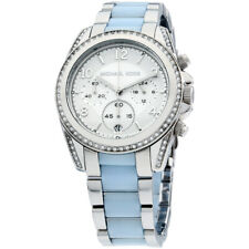 Michael Kors Blair Quartz Movement Silver Dial Ladies Watch MK6137