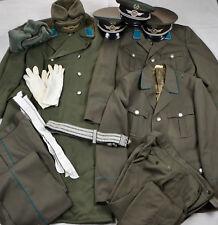 DDR NVA KVP großes Konvolut Uniformteile Luftstreitkräfte Feldbinde 1043