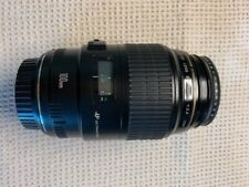 Canon macro lens EF 100mm 1:2.8 USM 58mm with polarizer ES 58