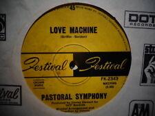 """Pastoral Symphony """"Love Machine"""" 1968 FESTIVAL  Oz 7"""" 45rpm"""