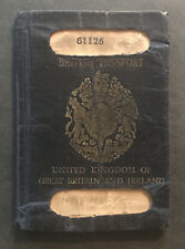 Stamps/Passport 1921*United Kingdom* of Great Britain and Ireland 32 pgs #01588