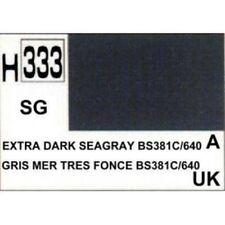 H333 Gris mer extra foncé satiné BS381C/640 Gunze 10ml