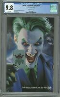 Joker Year Of The Villain 1 CGC 9.8 Comic Mint Edition B Mayhew Variant Cover