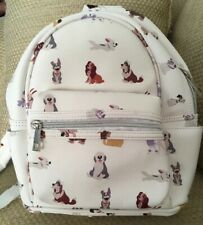 NWT DISNEY DOGS BACKPACK PURSE LADY TRAMP BOLT MAX SOLD OUT