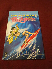 Private Beach Fun & Perils Trudyverse David Hahn SIGNED Fables Bill Willingham