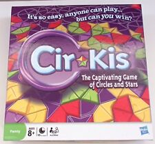 Cir-Kis Cirkis Game 2009 Hasbro Board Game Circles & Stars Puzzle Complete