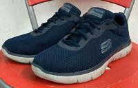 Scarpe Uomo Sportive Skechers Dual Lite Memory Foam Numero 41 Blu