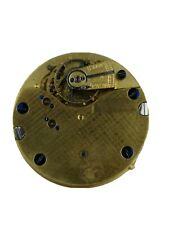 Small High Quality English Pocket Watch Movement with Unusual Finish (AB47)