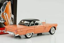 1957 Ford Thunderbird + Hardtop Holiday Edition coral sand 1:18 Auto world