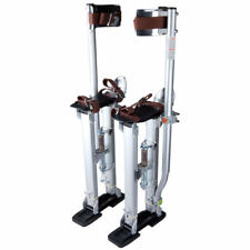 Drywall Stilts 24-40-Inch Aluminum Tool For Painting - Taping Silver