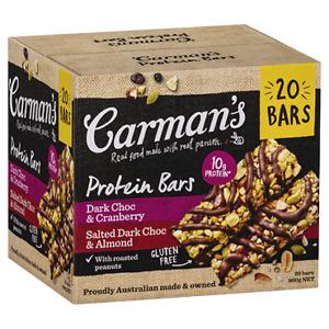 Carman's Protein Bars 20 x 40G