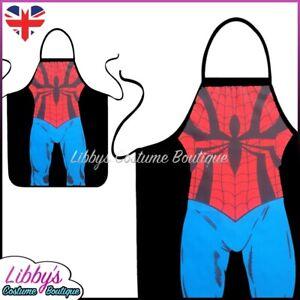 Spider-Man Marvel Comics Superhero Novelty Funny Apron Unisex Adult Cooking BBQ