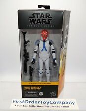 "Star Wars Black Series 6"" Inch Ahsoka's 332nd Clone Trooper Figure MISB SEALED"