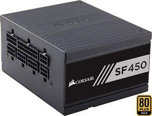 Corsair SF450 PC-Netzteil Voll-Modulares Kabelmanagement, 80 Plus Gold, 450W