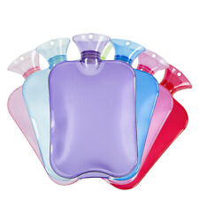 Large PVC Rubber HOT WATER BOTTLE Bag WARM Relaxing Heat / Cold Therapy 2 Liter